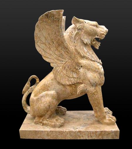 Marble Granite Animal Sculpture Stone Dog Elephant Lion