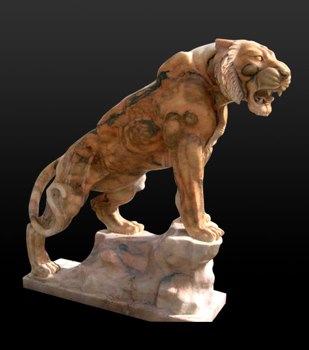 Marble Granite Animal Sculpture Stone Dog Elephant Lion
