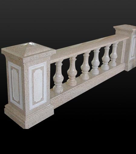 Stone Balustrade Marble Baluster Granite Hand Rails