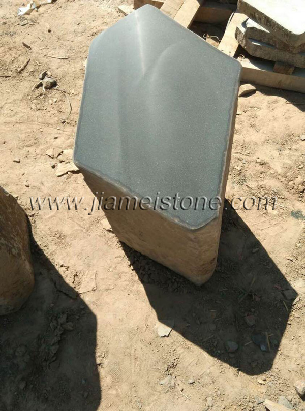 Basalt Columns With One End Cut And Honed Or Polished