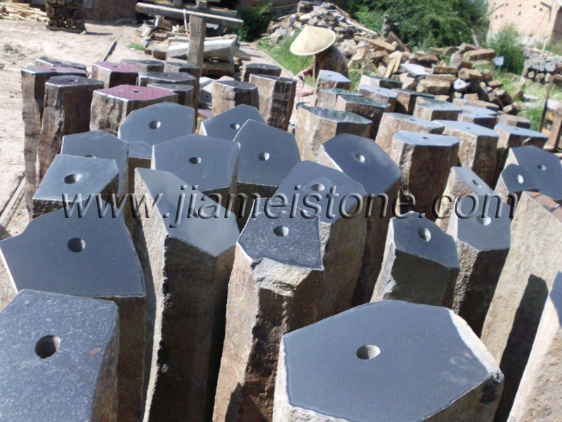 Basalt Columns Fountains Water Features Pre Drilled Holes