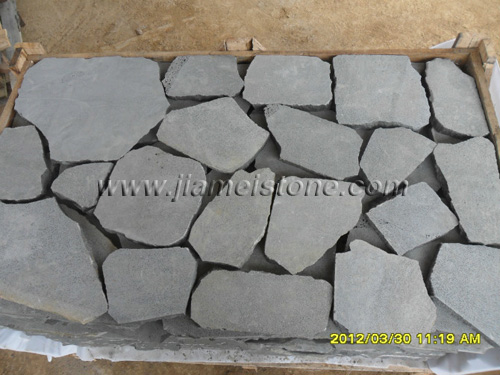 Bluestone Random Pavers Basalt Irregular Stepping Stone
