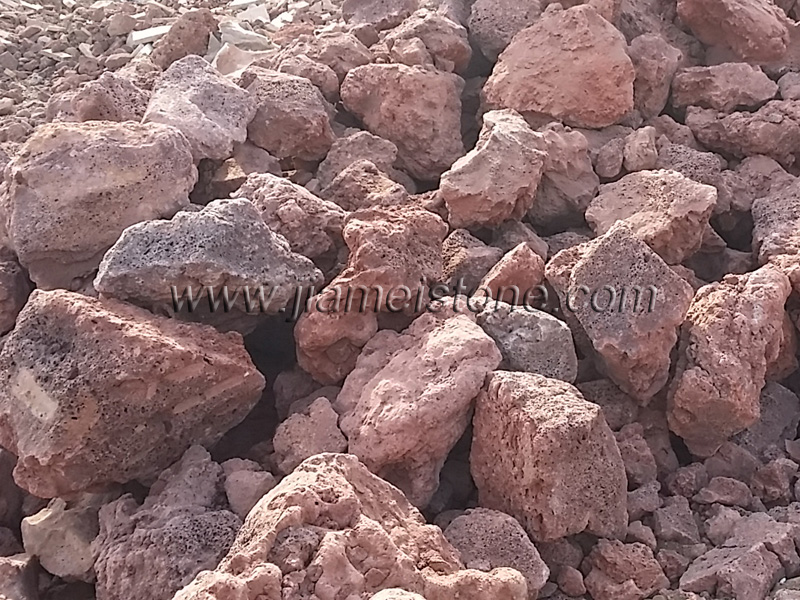 Red Pumice Stone : Natural lava rock pumice stone rocks volcanic