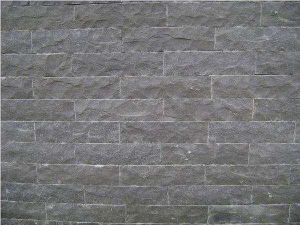 Black Basalt Stone Wall : Zhangpu black basalt g flamed cobblestone slab setts