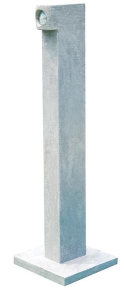 Blue Limestone Lamp For Gardens Lantern Lamp Post China