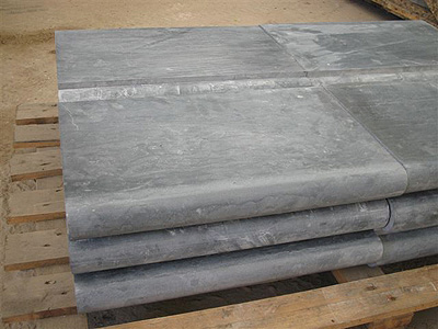 Chinese Blue Limestone Pool Copings Swimming Pool Covering