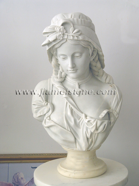 Marble Busts of Famous People