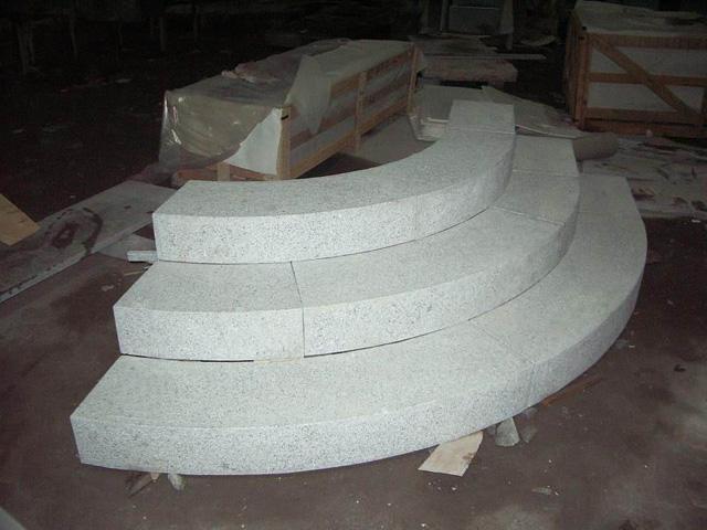 G603 Granite Steps Stairs G603 Blocksteps Blockstairs