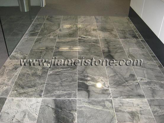 Silver Grey Sky Blue Granite Flooring Tiles Paving Projects