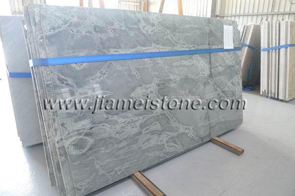 Silver Grey Sky Blue Granite Slabs