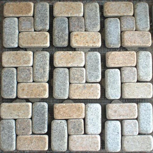 tumbled granite pavers