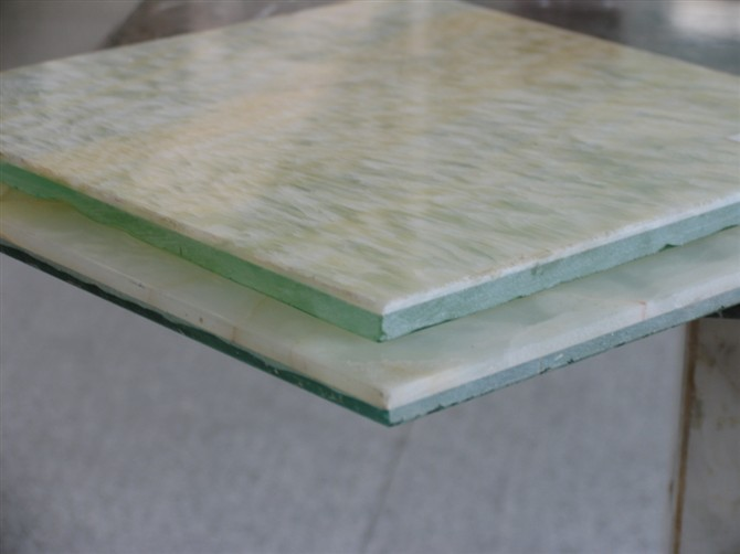 Onyx Marble Glass Composite Stone Tile Slab Panel Veneer