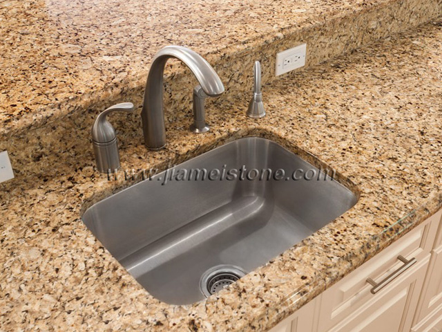 Brazil Gold Granite Countertops, Granite Kitchen Countertops