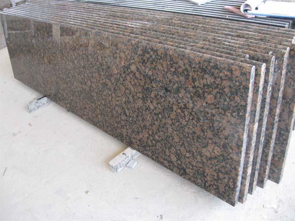 Apple Green · Baltic Brown Granite Countertop