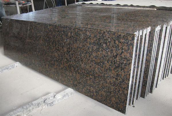 Baltic Brown Granite Kitchen Countertop Bathroom Vanity Top Worktop Benchtop Table Top Bar Top