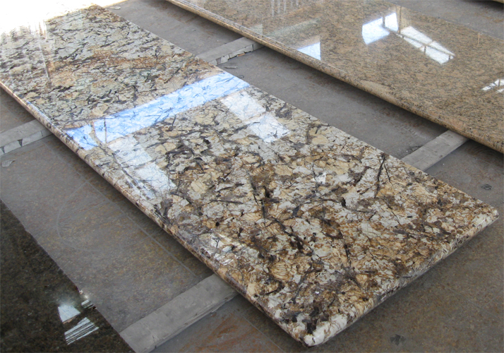 Crystal White Granite Kitchen Countertop Bathroom Vanity