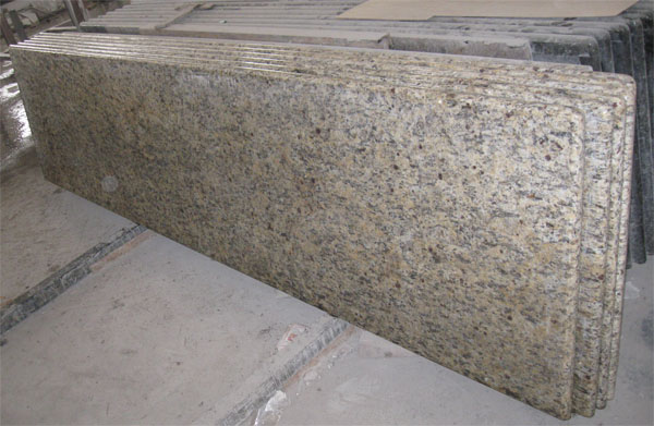 Building A Bathroom Vanity >> Giallo SF Real granite kitchen countertop bathroom vanity top worktop benchtop table top bar top