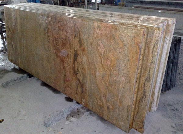 Real Granite Countertops : Home >> Countertop >> Granite Countertop >> Golden King