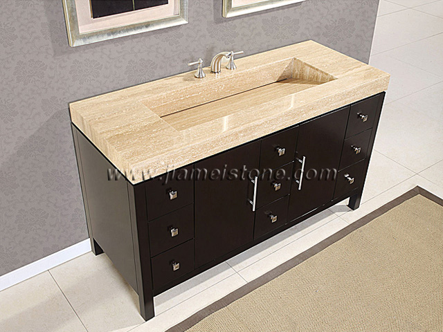 granite rectangular vanity sink with top tops beige londonlanguagelab bathroom com wt samoa vessel online