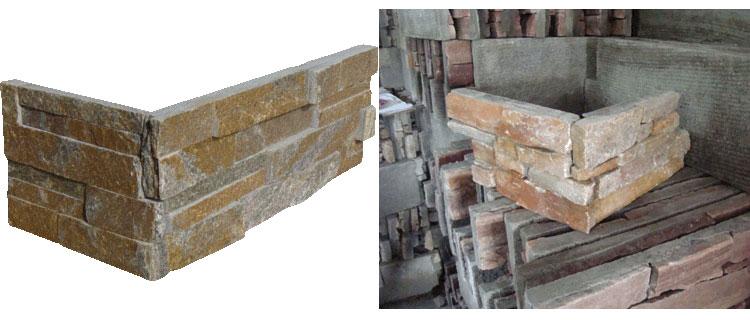 Ledger Stone Corners Cultured Stone Corner Slate Quartzite