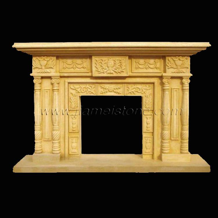 Marble Fireplaces Mantel Column Configuration Surrounds