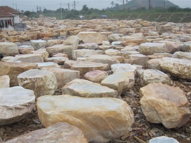 Flat Rock Stone : Natural large boulders garden rocks for landscape river