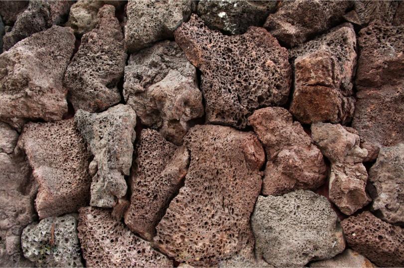Natural large boulders garden rocks for landscape river for Brown lava rock for landscaping