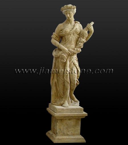 Marble statue religious figure roman sculptures greek