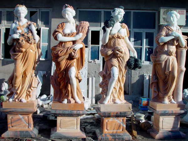 Marble Statue 85036 Four Seasons Marble Statues Life