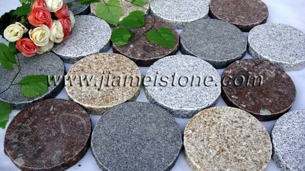 Natural Stone Round Pavers