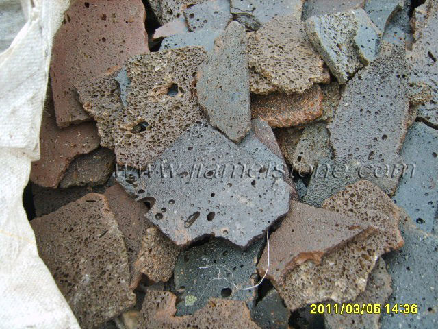 Lava Stone Sliced Paving Flooring Veneers Tiles