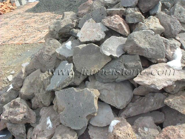 Lava stone sliced paving flooring veneers tiles for Lava rock pavers
