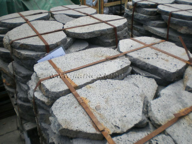 Irregular Lava Stone Pavers Volcanic Stepping Stone Puka