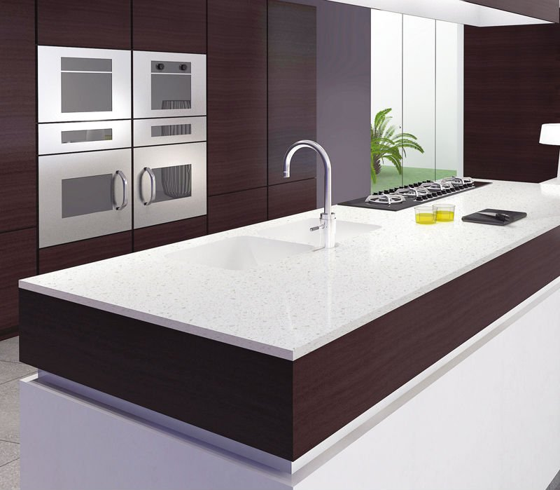 Engineered Stone Countertops 007 Quartz Kitchen Countertops Engineered Stone Countertops 008