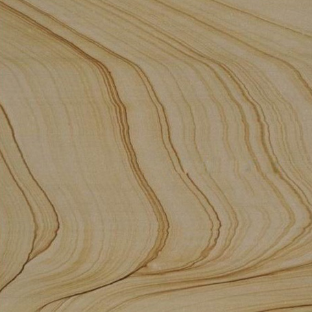 Yellow Wood Sandstone Tiles Random Wood Veins Veining