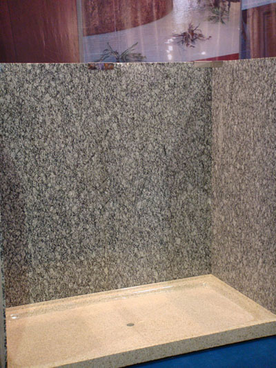 granite shower wall panels