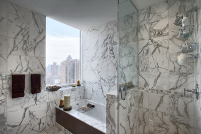 marble shower wall tiles