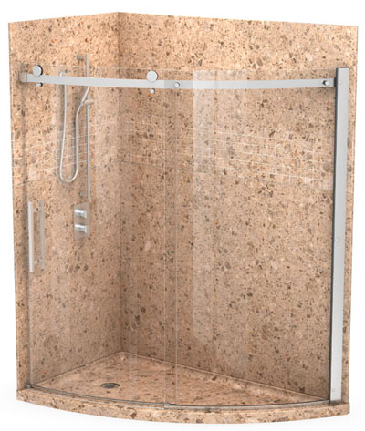 granite shower wall tiles