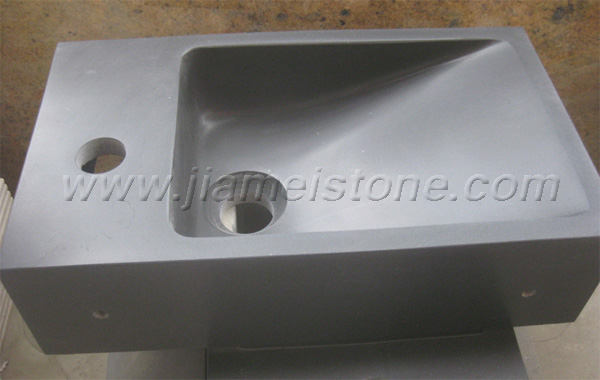 Basalt Stone Sink Vessel Stone Sink Bathroom Wash Basin