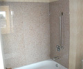 granite tub surround, granite shower panels